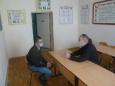 Помощник начальника УФСИН России по Орловской области по организации работы с верующими Сергий Крючков провел беседу с лицами, содержащимися в СИЗО-1