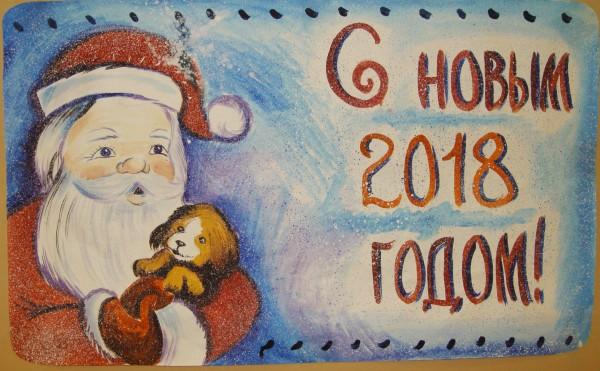 Конкурс стенных газет, посвященных Новому году прошел в ИК-5 УФСИН России по Орловской области