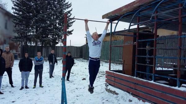 В КП-7 УФСИН России по Орловской области прошла зимняя  спартакиада среди осужденных