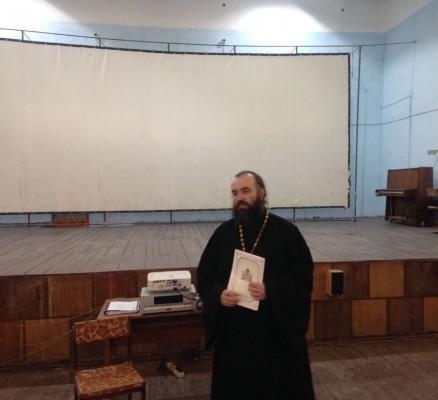 Осужденным КП-7 УФСИН России по Орловской области рассказали об истории Рождества Христова