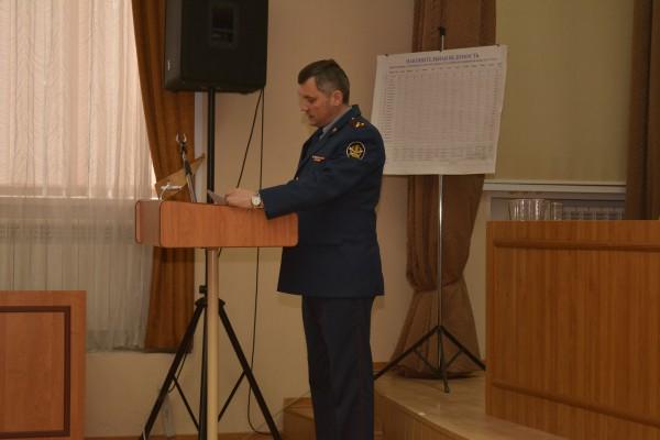 Отдел по конвоированию УФСИН России по Орловской области подвел итоги деятельности за  2017 год