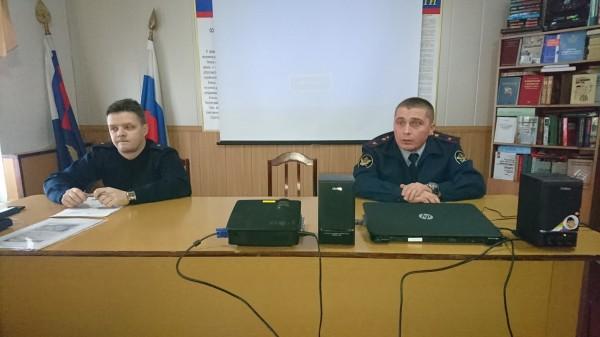 В ИК-2 УФСИН России по Орловской области  провели встречу с учащимися общеобразовательных школ города