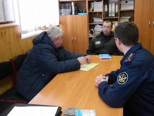 ИК-2 УФСИН России по Орловской области посетил член  Общественного совета при УФСИН Николай Тришонков