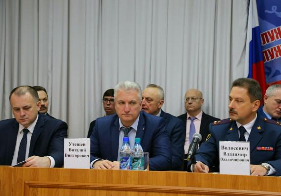 В УФСИН России по Орловской области прошла расширенная коллегия по итогам оперативно-служебной, производственно-хозяйственной и финансово-экономической деятельности за 2017 год