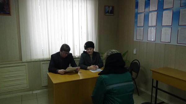 Женскую колонию посетил исполняющий обязанности начальника Управления Минюста России по Орловской области Владимир  Яськов