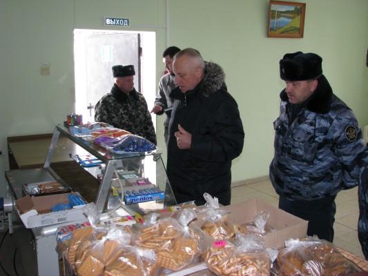 КП-3 УФСИН России по Орловской области посетил Уполномоченный по правам человека в регионе Александр Лабейкин