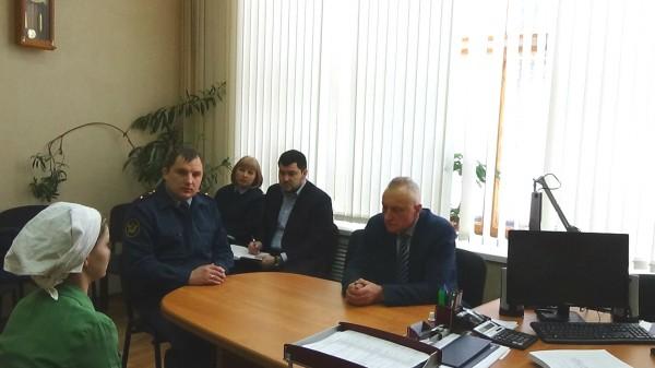 ИК-6 УФСИН России по Орловской области посетил Уполномоченный по правам человека в регионе Александр Лабейкин