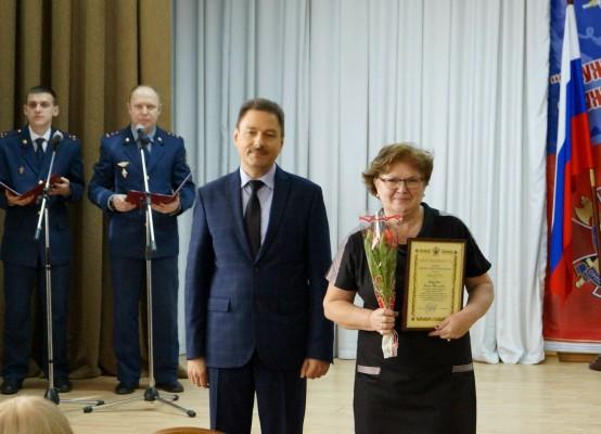 В УФСИН России по Орловской области поздравили женщин с Международным женским днем 8 марта
