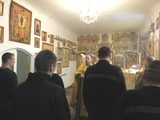 В учреждениях УФСИН России по Орловской области отметили праздник Светлого Христова Воскресения