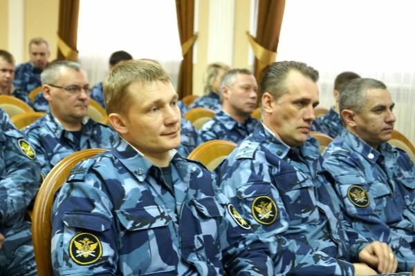 Отдел по конвоированию УФСИН России по Орловской области подвел итоги деятельности за 1 квартал 2018 года