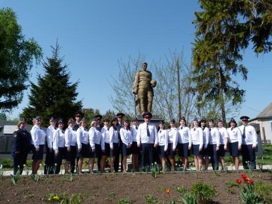 Сотрудники уголовно-исполнительной системы Орловской области приняли участие в мероприятиях, посвященных Дню Победы
