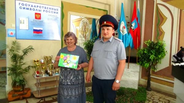 Начальник ИК-6 в Некрасовской школе-интернате