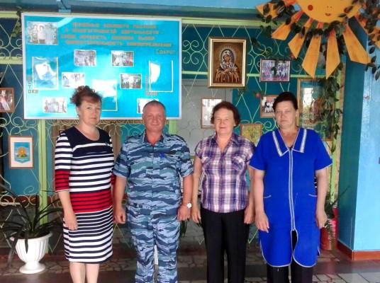 Сотрудников КП-3  УФСИН России по Орловской области поблагодарили за оказанную помощь Кромской школе -интернату