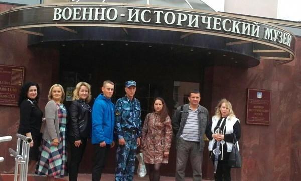 Сотрудники КП-3 УФСИН России по Орловской области посетили Военно-исторический музей города Орла