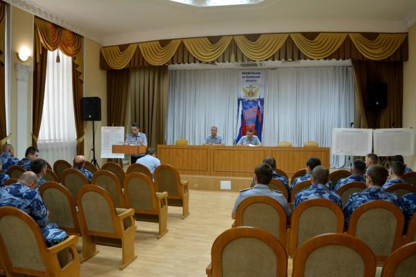 Отдел по конвоированию УФСИН России по Орловской области подвел итоги деятельности за 2  квартал 2018 года