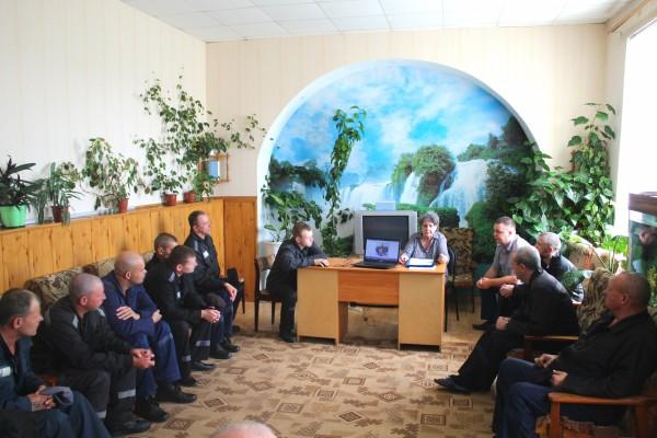 Осужденным ИК-5 УФСИН России по Орловской области  рассказали о жизни и творчестве И.С. Тургенева