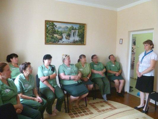 Осужденных в ИК-6 УФСИН России по Орловской области проконсультировали по вопросам пенсионного обеспечения