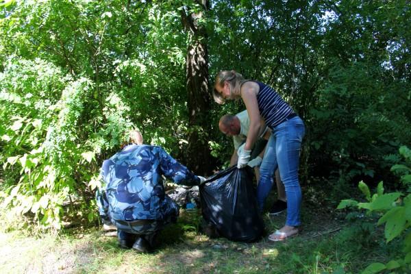 Сотрудники УФСИН России по Орловской области провели экспедицию по охране дикой природы