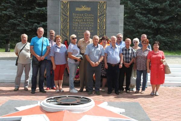 Ветераны уголовно - исполнительной системы Орловской области посетили город Малоархангельск