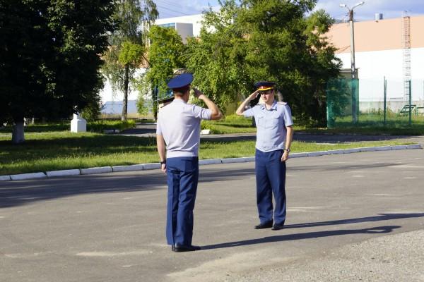 В УФСИН России по Орловской области прошло торжественное собрание, посвященное Дню Государственного флага России