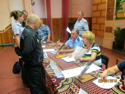 В ИК-2  УФСИН России по Орловской области состоялся «прямой диалог» с осужденными