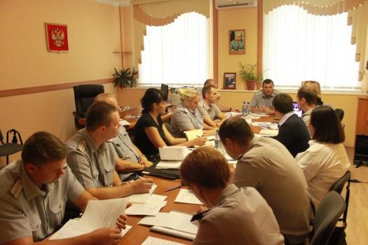 В УФСИН России по Орловской области состоялся