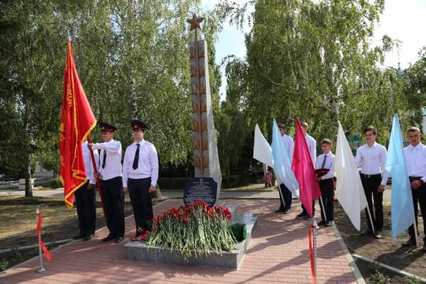Сотрудники ИК-2 УФСИН России по Орловской области приняли участие в открытии стелы «Населенный пункт воинской доблести»