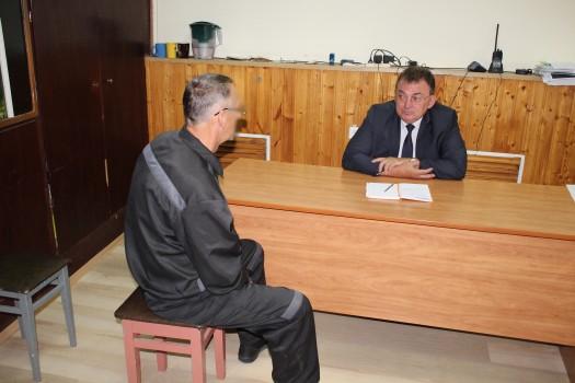 Уполномоченный по защите прав предпринимателей в Орловской области Евгений  Лыкин посетил ИК-5 УФСИН России по Орловской области