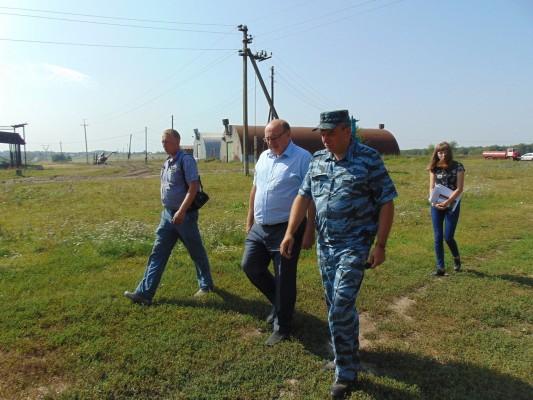 Колонию – поселение №7 УФСИН России по Орловской области посетил глава Мценского района Иван Грачев