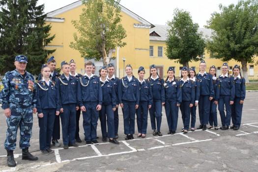 Ветераны УИС области участвуют в патриотическом воспитании молодого поколения