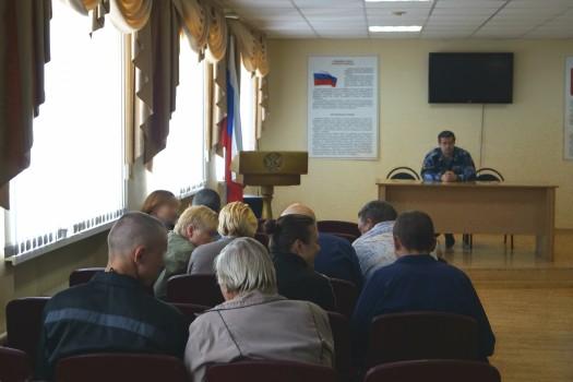 В СИЗО-1 УФСИН России по Орловской области прошел день открытых дверей для родственников осужденных