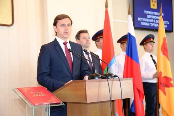 Сотрудники ИК-2 УФСИН России по Орловской области приняли участие в церемонии  инаугурации главы  города Ливны