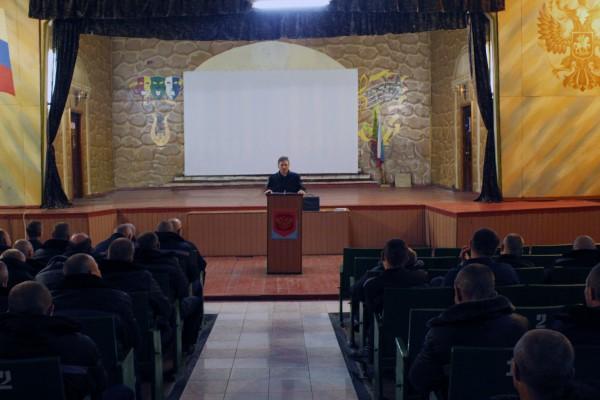 В ИК-5 УФСИН России по Орловской области проведена лекция на тему: «Проявление экстремизма в различных религиях»