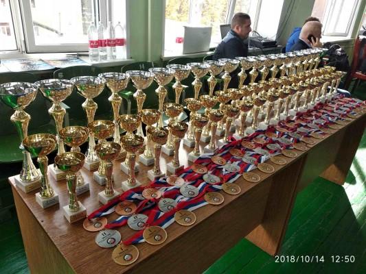 Сотрудники ИК-5 УФСИН России по Орловской области приняли участие в первом открытом кубке Орловской области по армейскому рукопашному бою