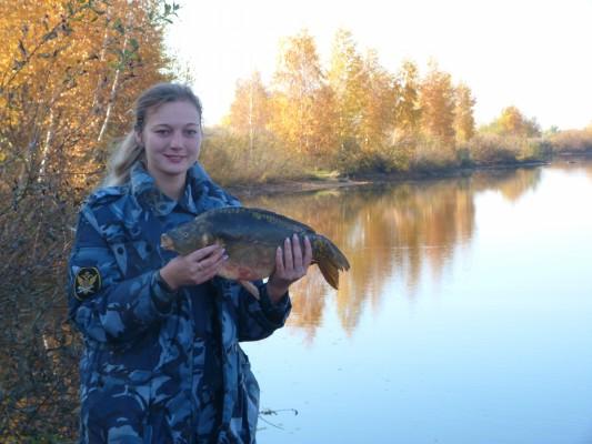 В ИК - 6 УФСИН России по Орловской области прошли соревнования по рыбной ловле