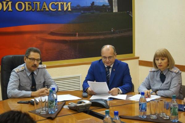 В УФСИН России по Орловской области состоялось расширенное заседание  Общественного совета