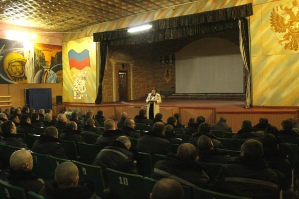 Осужденным ИК-5  УФСИН России по  Орловской области рассказали о вреде употребления алкоголя, наркотиков и курения