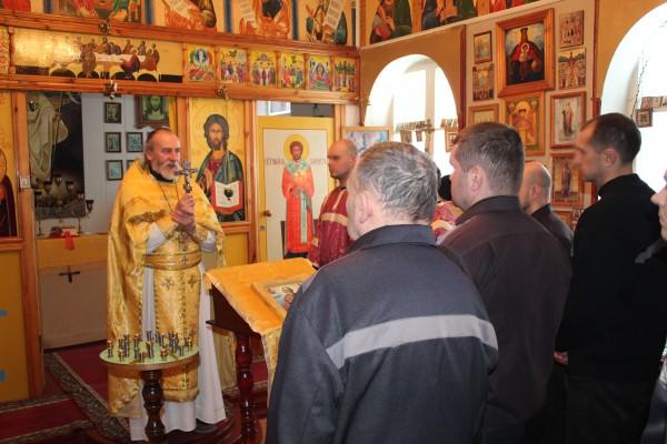 В исправительных учреждениях УФСИН России по Орловской области прошли праздничные богослужения