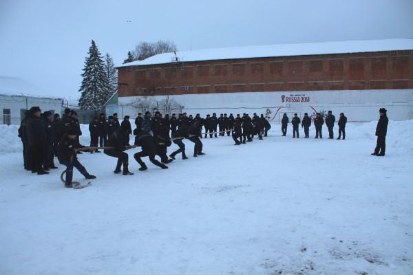 В ИК-5 УФСИН России по Орловской области прошла зимняя  спартакиада среди осужденных