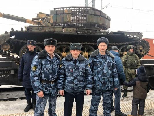 Сотрудники УФСИН России по Орловской области посетили выставку военной техники
