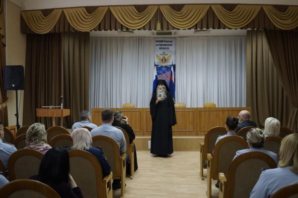 В УФСИН России по Орловской области состоялась встреча с Героем Советского Союза Валерием Бурковым
