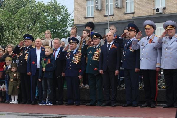 Сотрудники УФСИН России по Орловской области приняли участие в параде, посвященном 74-ой годовщины Победы в Великой Отечественной войне