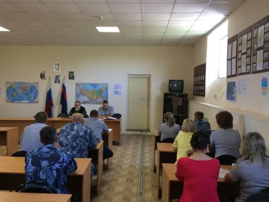 С сотрудниками ИК-5 УФСИН России по Орловской области проведено занятие представителем Русской православной церкви