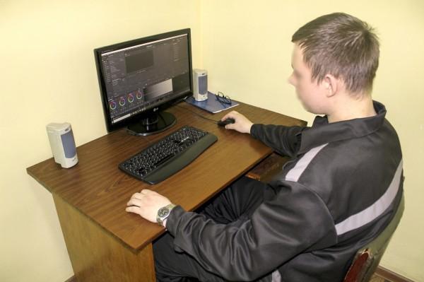 В ИК-5 УФСИН России по Орловской области работает студия кабельного телевидения