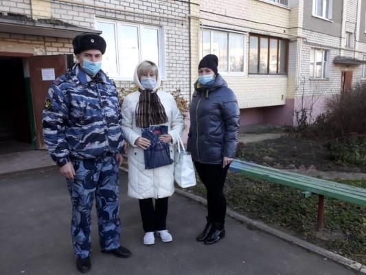 КП-7 посещение ветеранов