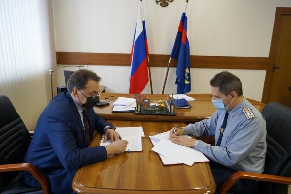 Подписано Соглашение о сотрудничестве между УФСИН России по Орловской области и Уполномоченным по защите прав предпринимателей в регионе